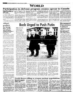 Syracuse Post Standard, February 24, 2005, Page 260