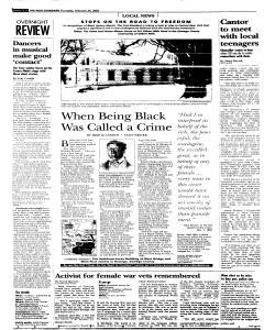 Syracuse Post Standard, February 24, 2005, Page 270