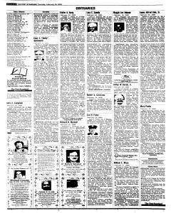Syracuse Post Standard, February 24, 2005, Page 312