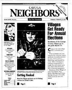 Syracuse Post Standard, February 24, 2005, Page 315