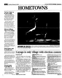 Syracuse Post Standard, February 24, 2005, Page 320