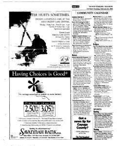 Syracuse Post Standard, February 24, 2005, Page 336