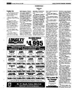 Syracuse Post Standard, February 24, 2005, Page 384
