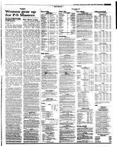 Syracuse Post Standard, February 24, 2005, Page 33