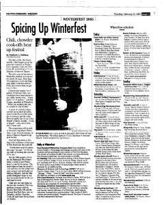 Syracuse Post Standard, February 24, 2005, Page 53