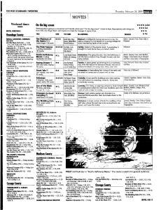 Syracuse Post Standard, February 24, 2005, Page 57