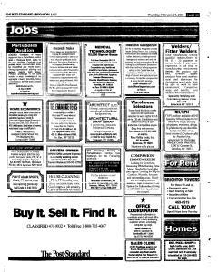 Syracuse Post Standard, February 24, 2005, Page 114