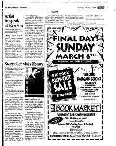 Syracuse Post Standard, February 24, 2005, Page 192