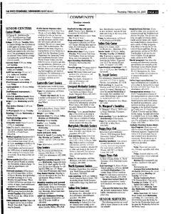Syracuse Post Standard, February 24, 2005, Page 138