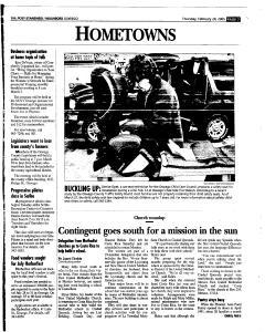 Syracuse Post Standard, February 24, 2005, Page 365