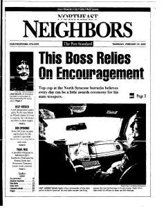 Syracuse Post Standard, February 24, 2005, Page 116