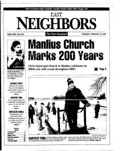 Syracuse Post Standard, February 24, 2005, Page 81
