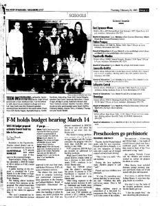 Syracuse Post Standard, February 24, 2005, Page 100