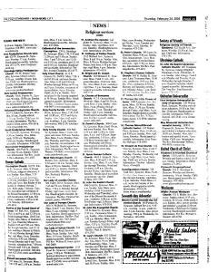 Syracuse Post Standard, February 24, 2005, Page 203