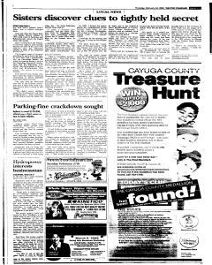 Syracuse Post Standard, February 24, 2005, Page 271
