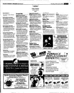 Syracuse Post Standard, February 24, 2005, Page 128