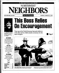 Syracuse Post Standard, February 24, 2005, Page 148