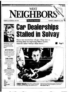 Syracuse Post Standard, February 24, 2005, Page 207