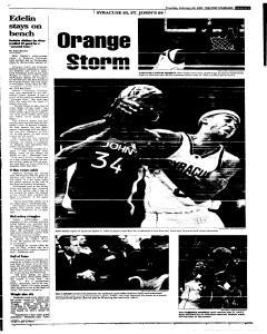 Syracuse Post Standard, February 24, 2005, Page 29