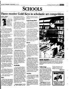 Syracuse Post Standard, February 24, 2005, Page 337
