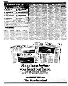 Syracuse Post Standard, February 25, 2005, Page 54