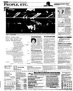 Syracuse Post Standard, February 25, 2005, Page 62