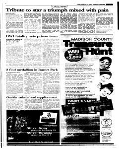 Syracuse Post Standard, February 25, 2005, Page 95