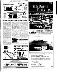 Syracuse Post Standard, February 25, 2005, Page 85