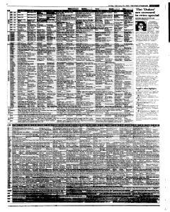 Syracuse Post Standard, February 25, 2005, Page 49