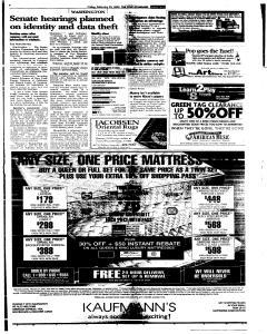 Syracuse Post Standard, February 25, 2005, Page 69