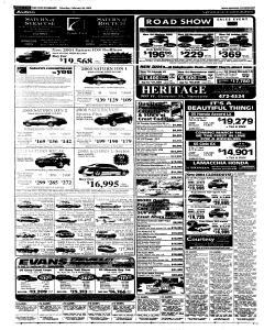 Syracuse Post Standard, February 26, 2005, Page 55