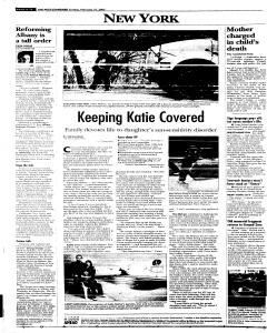 Syracuse Post Standard, February 27, 2005, Page 16