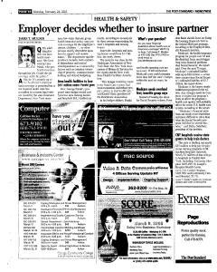 Syracuse Post Standard, February 28, 2005, Page 55