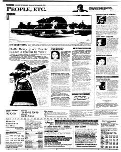 Syracuse Post Standard, February 28, 2005, Page 57