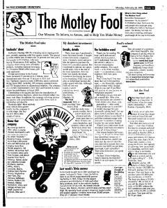 Syracuse Post Standard, February 28, 2005, Page 50