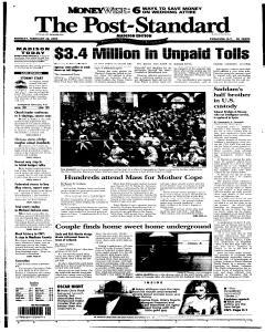 Syracuse Post Standard, February 28, 2005, Page 70