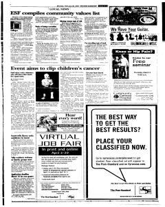 Syracuse Post Standard, February 28, 2005, Page 94