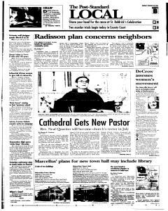 Syracuse Post Standard, February 28, 2005, Page 9
