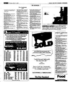 Syracuse Post Standard, March 03, 2005, Page 395