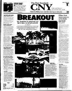 Syracuse Post Standard, March 03, 2005, Page 37