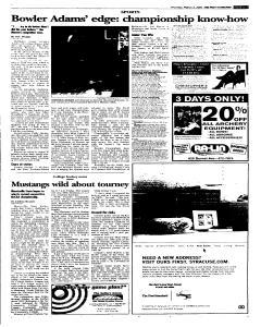 Syracuse Post Standard, March 03, 2005, Page 29