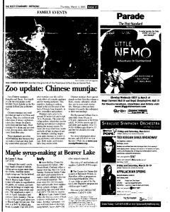 Syracuse Post Standard, March 03, 2005, Page 71
