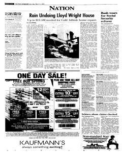 Syracuse Post Standard, March 05, 2005, p. 10