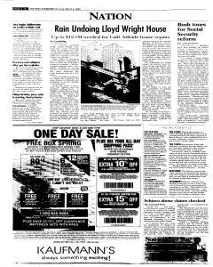 Syracuse Post Standard, March 05, 2005, p. 20