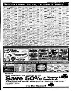 Syracuse Post Standard, March 05, 2005, Page 73