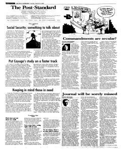 Syracuse Post Standard, March 08, 2005, Page 98