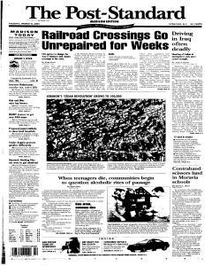 Syracuse Post Standard, March 08, 2005, Page 71