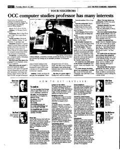Syracuse Post Standard, March 10, 2005, Page 38