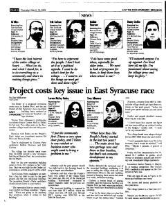 Syracuse Post Standard, March 10, 2005, Page 40