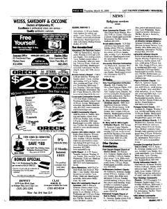 Syracuse Post Standard, March 10, 2005, Page 50